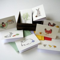 Boxed Collection of Spring Themed Gift Cards