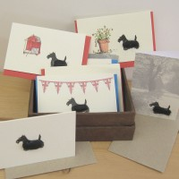 Boxed Collection of Scottie Dog Gift Cards