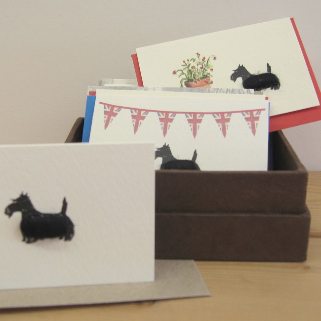 Boxed Gift Cards with Scottie Dogs