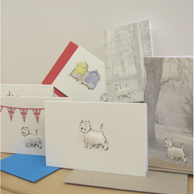 Boxed Gift Cards with Westies