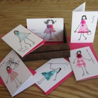 Boxed Gift Cards with Fun-Loving Girls