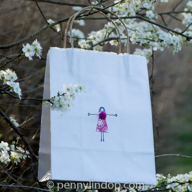 Powder Puff Girl Gift Bag