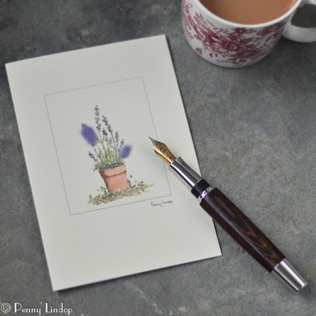 Lavender - Greeting Card
