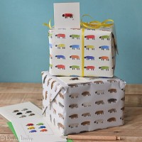 Gift wrap and tag - Sheep