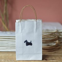 Scottie Dog Gift Bag