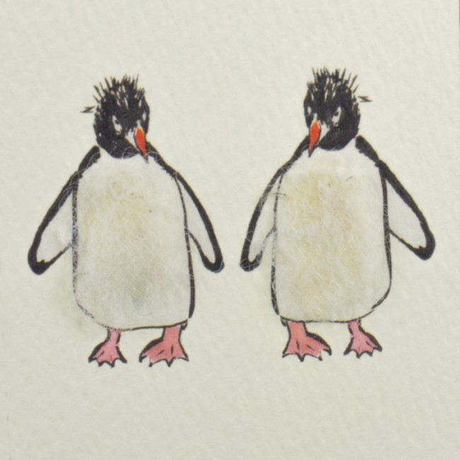 Two Penguins Card