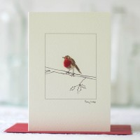 Robin & Branch Christmas Card