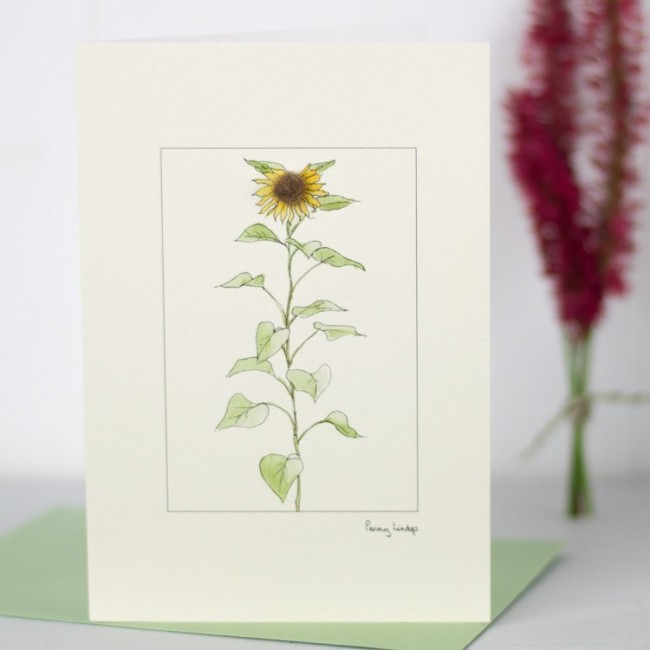 Sunflower - Greeting Card