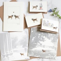 Border Terrier Card Selection