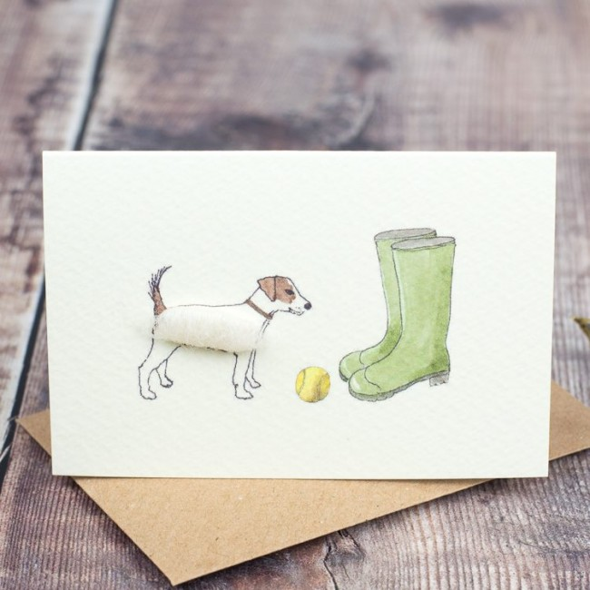 Boxed Collection of Jack Russell Gift Cards