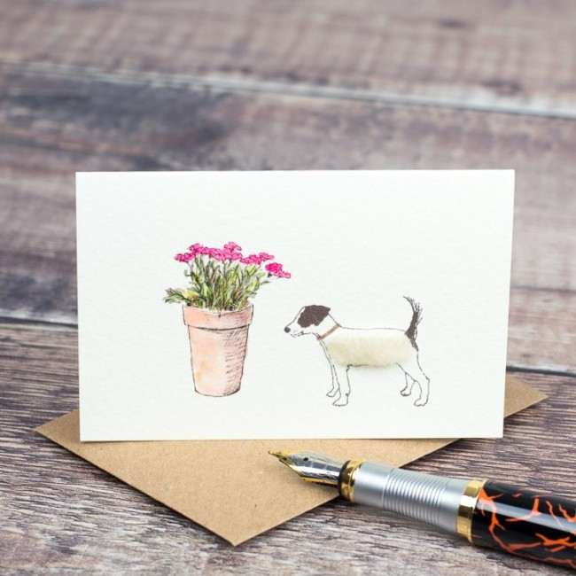 Jack Russell gift cards - boxed set of 8