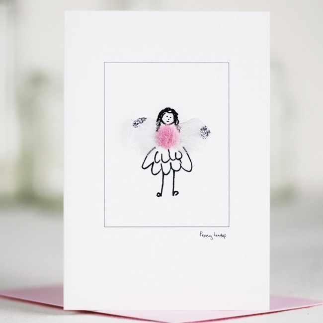 Greeting Card - Pink Fairy