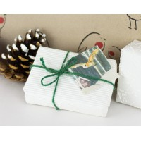 Christmas Gift Tags, Winter Woodland Animals, pack of 8