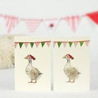 Goose Christmas Gift Cards - Pack of 4