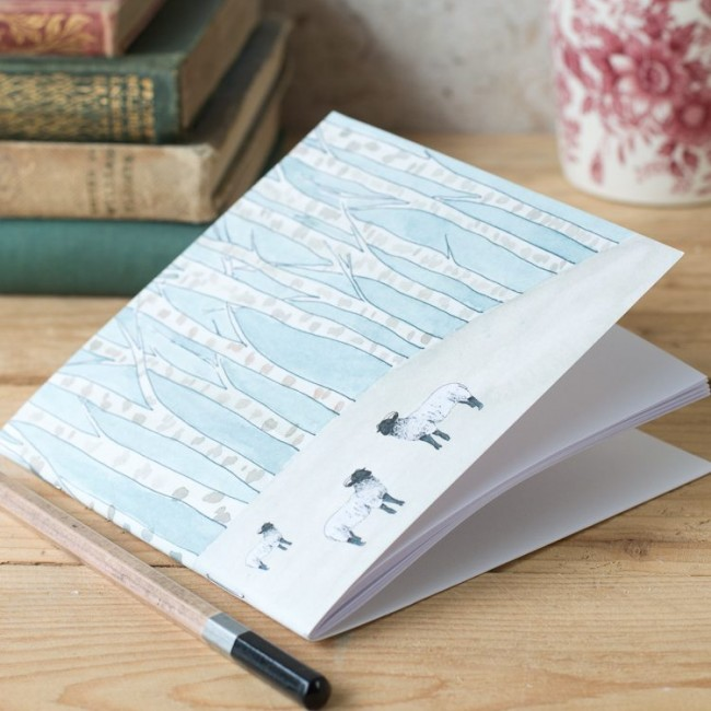 Winter Woodland Animal Notebook - Sheep