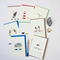 Coastal Themed Cards - June Offer