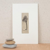 Sheep & Willow Tree Picture
