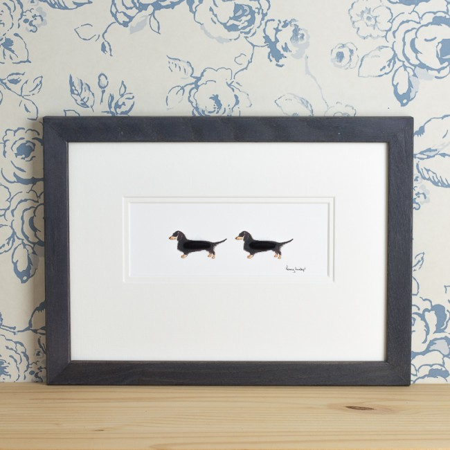 Dachshunds Print - 2 dachshunds