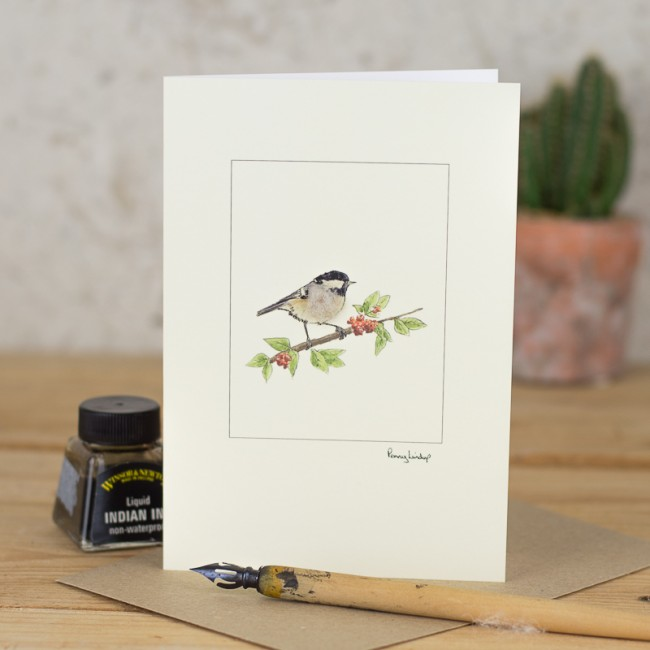Coal Tit Card