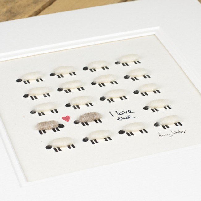 I love ewe sheep print