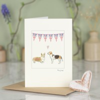 Royal Wedding Dogs Card