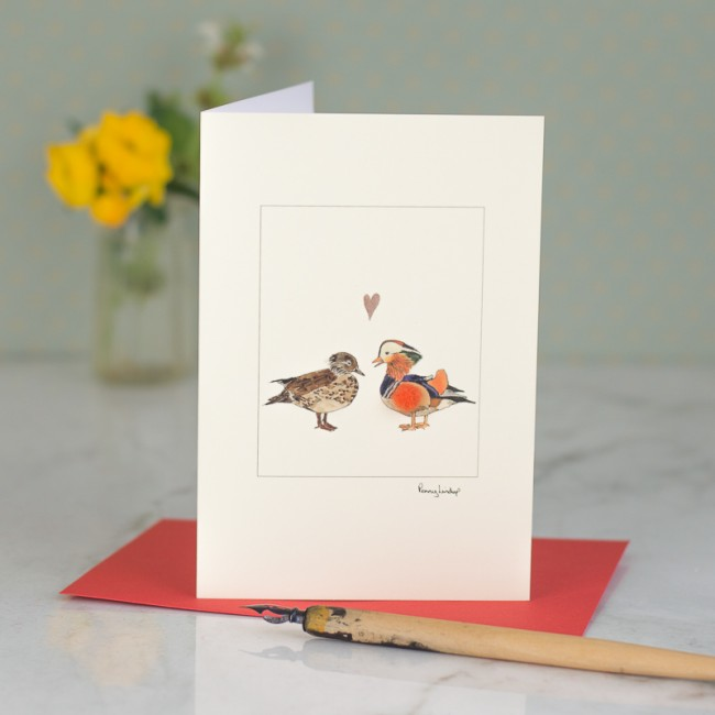 Duck Card - Mandarin Ducks
