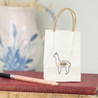 Alpaca tiny gift bags - Pack of 6