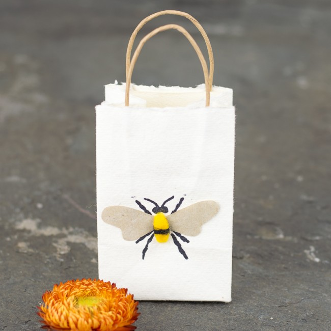 Bee tiny gift bags - Pack of 6