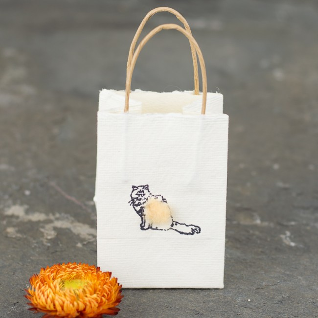 Cat tiny gift bags - Pack of 6