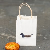 Dachshund tiny gift bags - Pack of 6