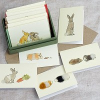 Boxed Collection of Pet Gift Cards for Children - 8 cards