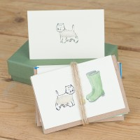 Boxed Collection of Westie Dog Gift Cards