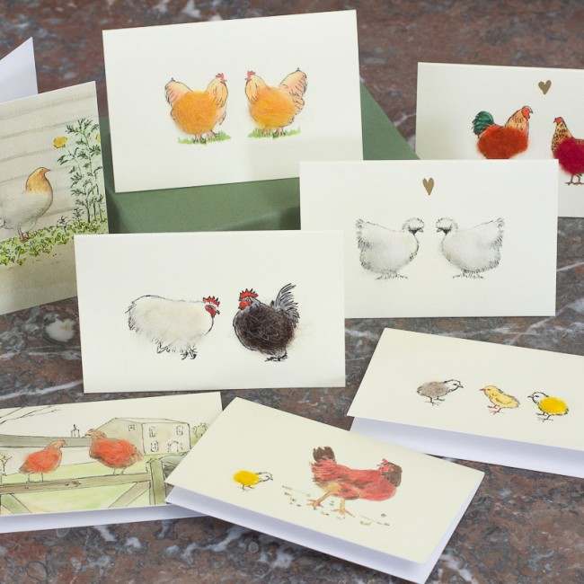 Boxed Collection of Hen and Chicken Gift Cards