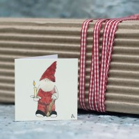 Christmas Gift Tags, Gnome, pack of 4
