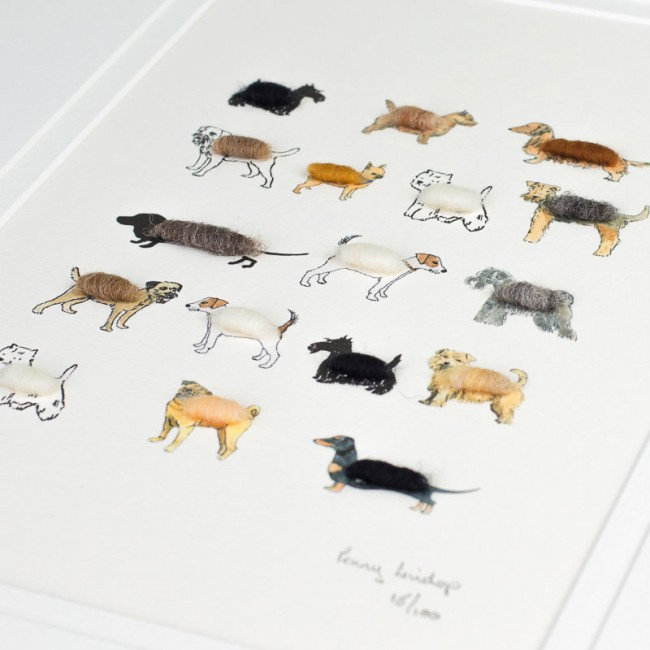 Dogs Limited Edition Print