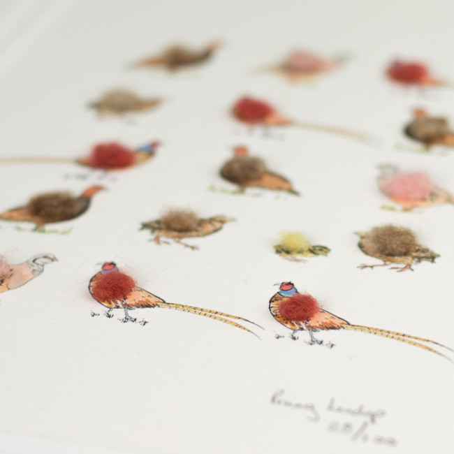 Game Birds Limited Edition Print