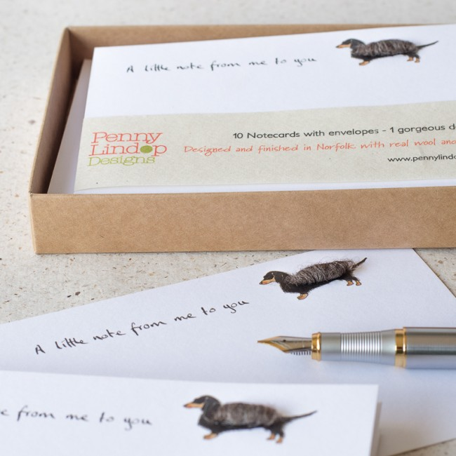 Dachshund Notecards, Boxed Set of 10