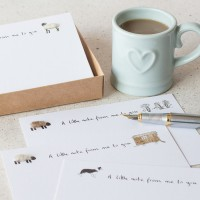 Sheep Notecards, boxed set of 10