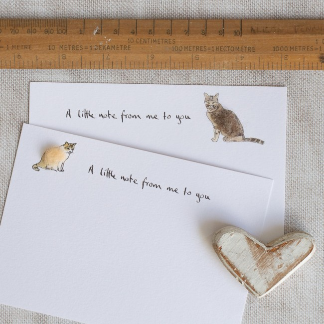 Cat Notecards, Boxed Set of 10