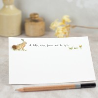 Hare Notecards, boxed set of 10
