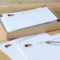 Ladybird Notecards, Boxed Set of 10