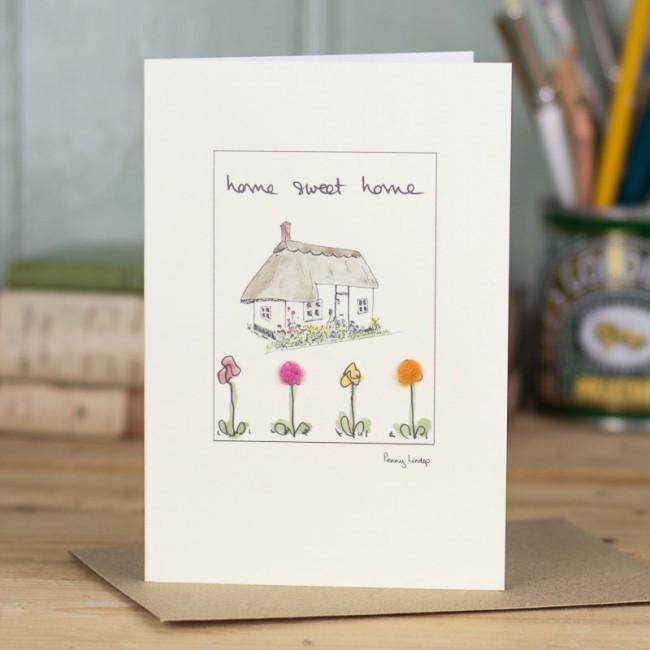 New Home card - cottage