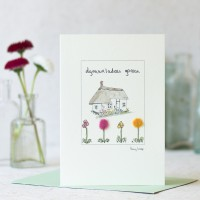 Welsh Card for New Home