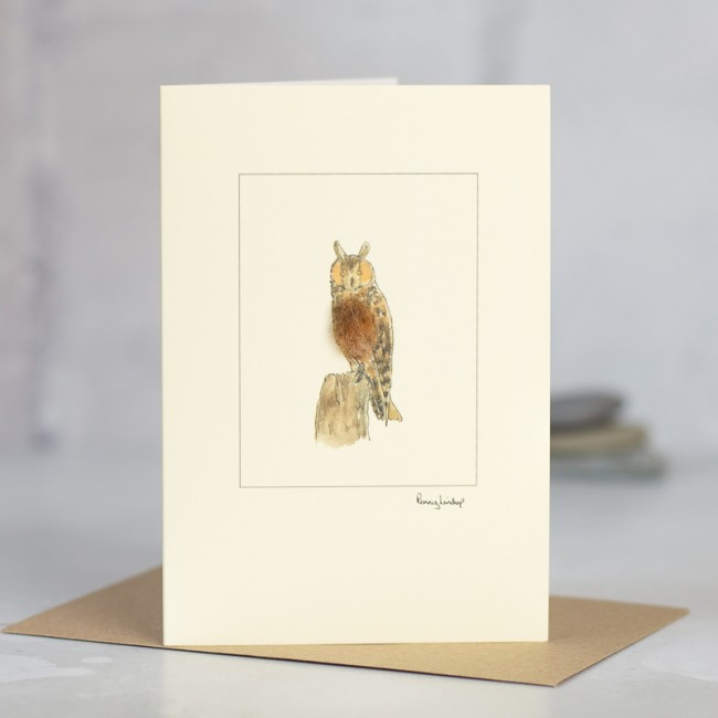 Long-eared Owl Card
