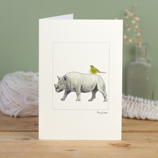 Rhinoceros card