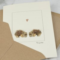 Wombats in love Card