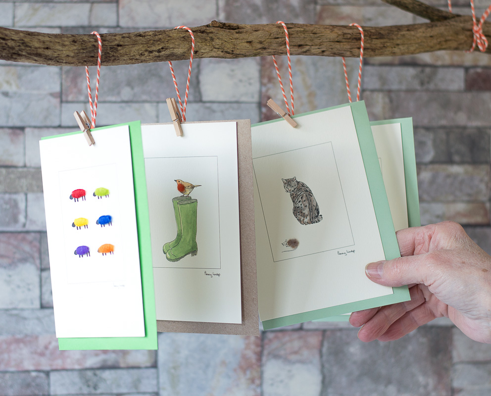 Penny Lindop Designs Greeting cards