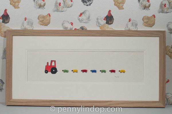 Picture - Nursery Tractor and Sheep