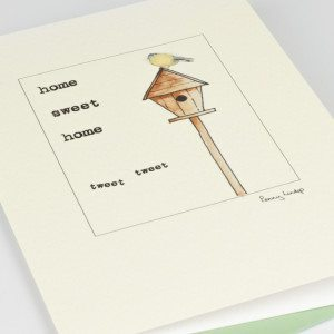 Greeting Card - home, sweet home