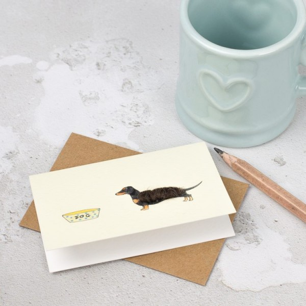 Dachshund gift cards - boxed set of 8